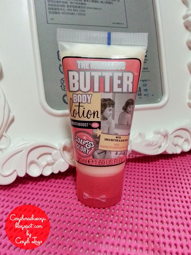 Product Review Soap and Glory The Righteous Butter Body Lotion