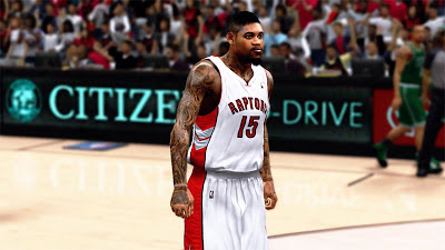 NBA 2K13 Amir Johnson Realistic Face Mods