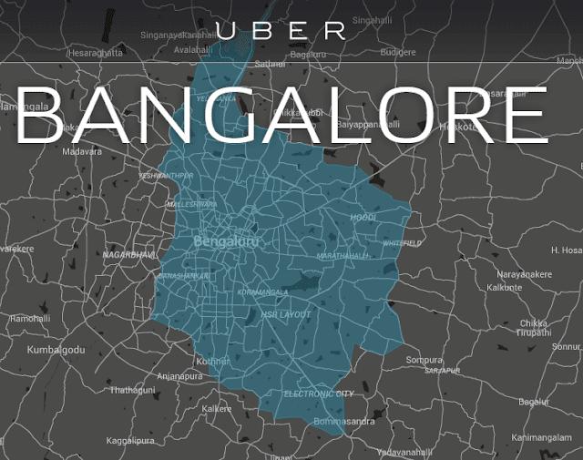 Uber Bangalore India Asia pacific