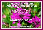 CYKLICZNE KOLORKI-MARZEC 2017