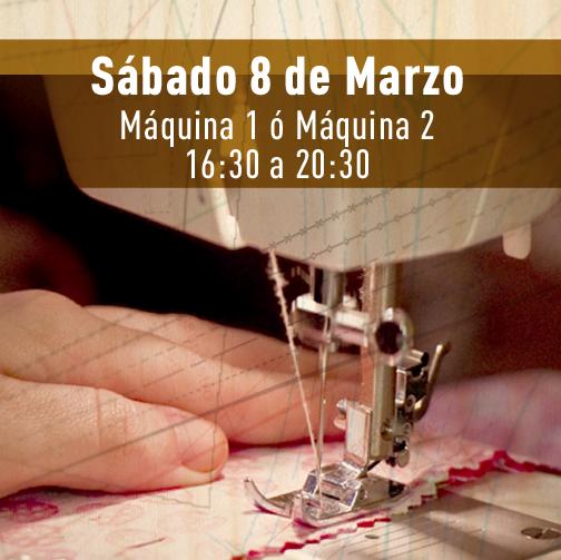 Monográfico máquina de coser Marzo Trapo y Tela