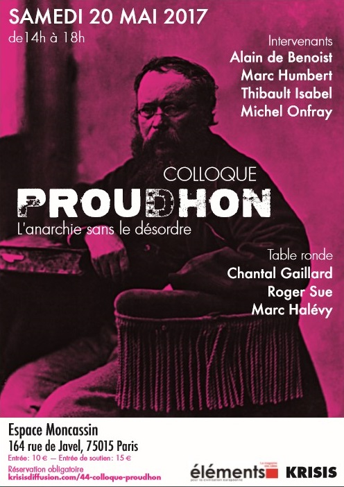 Les photos du colloque Proudhon
