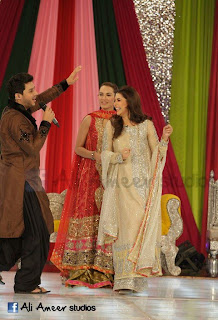 Nadia hussain and Ahsan khan at gmp wedding week images