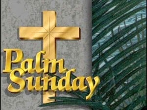 happy palm sunday &