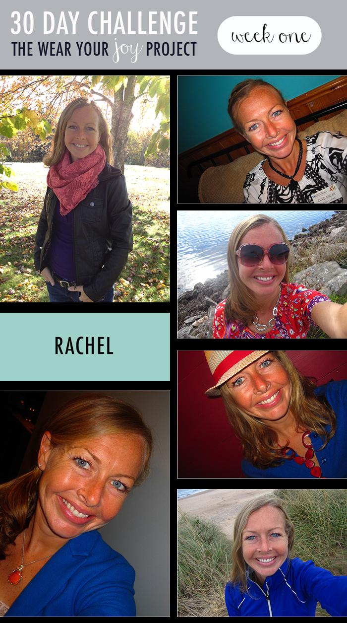 wear your joy project : rachel on polka dot soup