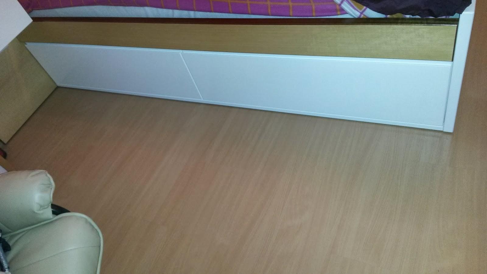 Muebles a medida cama dormitorio con cajones bajo cama - Cajones bajo cama ...