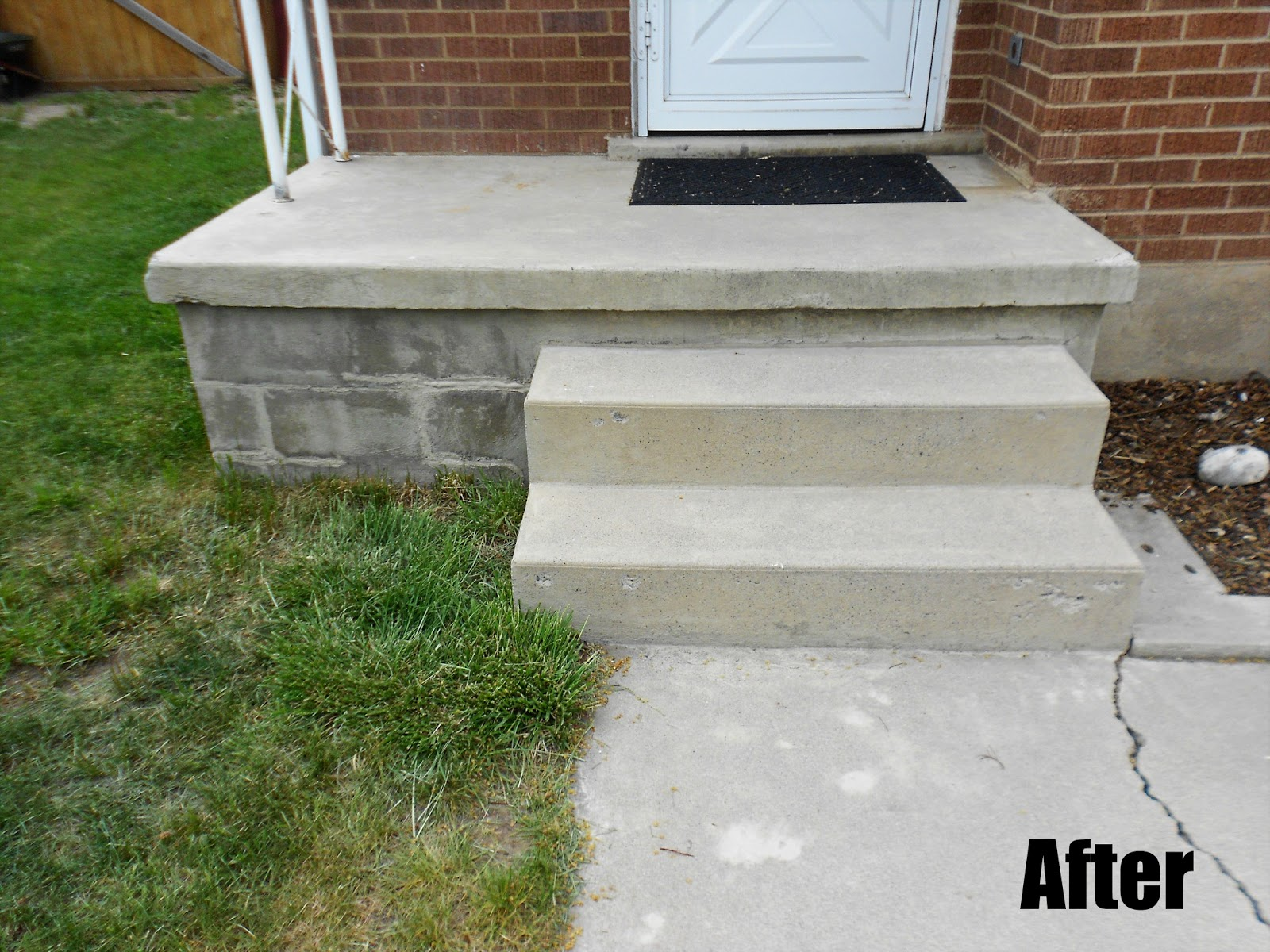 Cost Of New Stairs ??? But Over $500. I Think That Is A Good Savings.