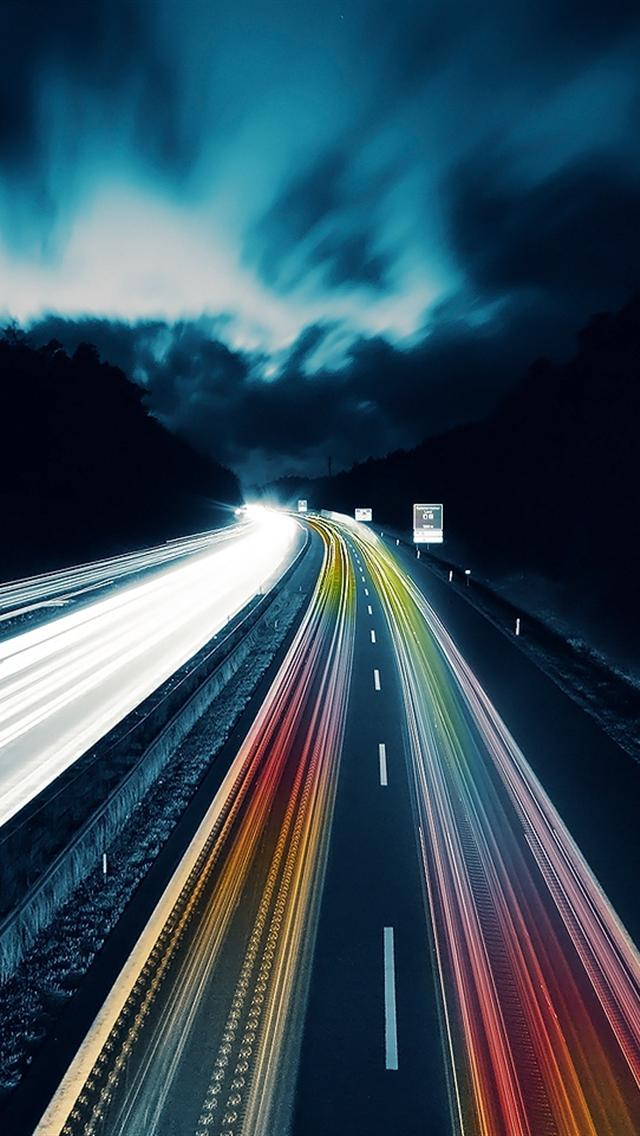 iphone 5 wallpapers hd awesome highway abstract iphone 5
