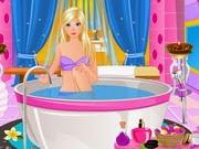 Barbie At Spa Salon | Juegos15.com