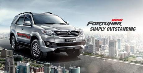 Sewa Mobil Fortuner di Surabaya