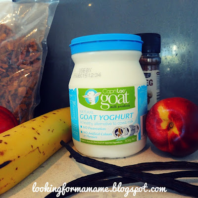 Easy Toddler Dessert Ideas - Cow's Milk Free - Banana Nectarine Smoothie