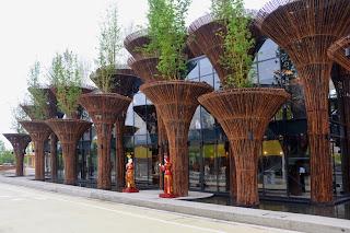 Instalacion de Bambu en Expo Milan 2015
