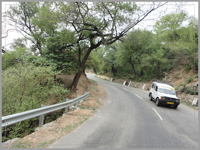 A Taxi on the Jammu to Katra road