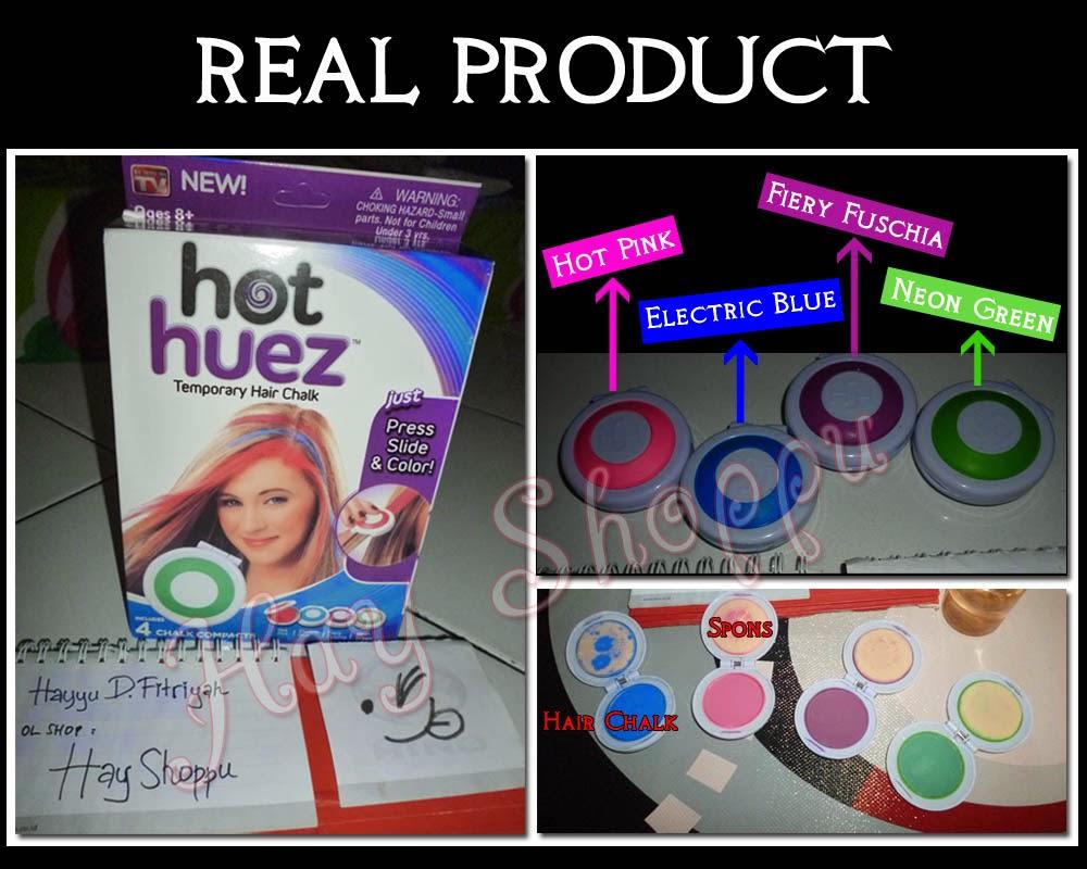 hot huez hair chalk instructions