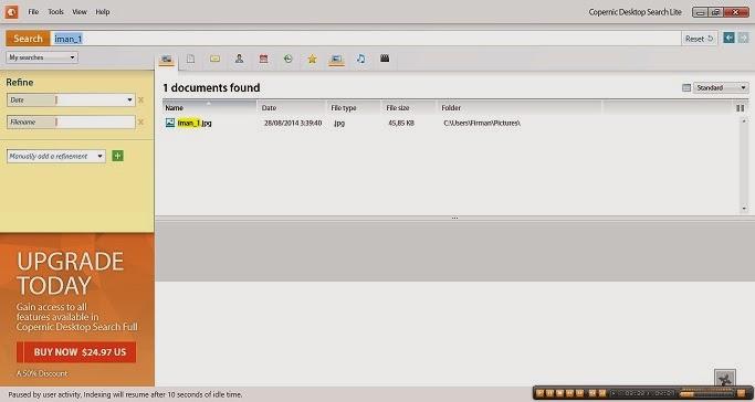 Copernic Desktop Search Lite Gratis