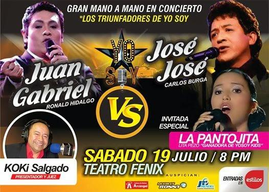 Los triunfadores de Yo Soy en Arequipa - 19 de julio