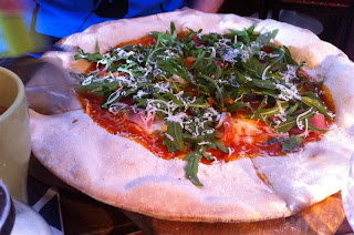 Stitch and Bear - Prosciutto pizza at Pay As You Pay Killarney