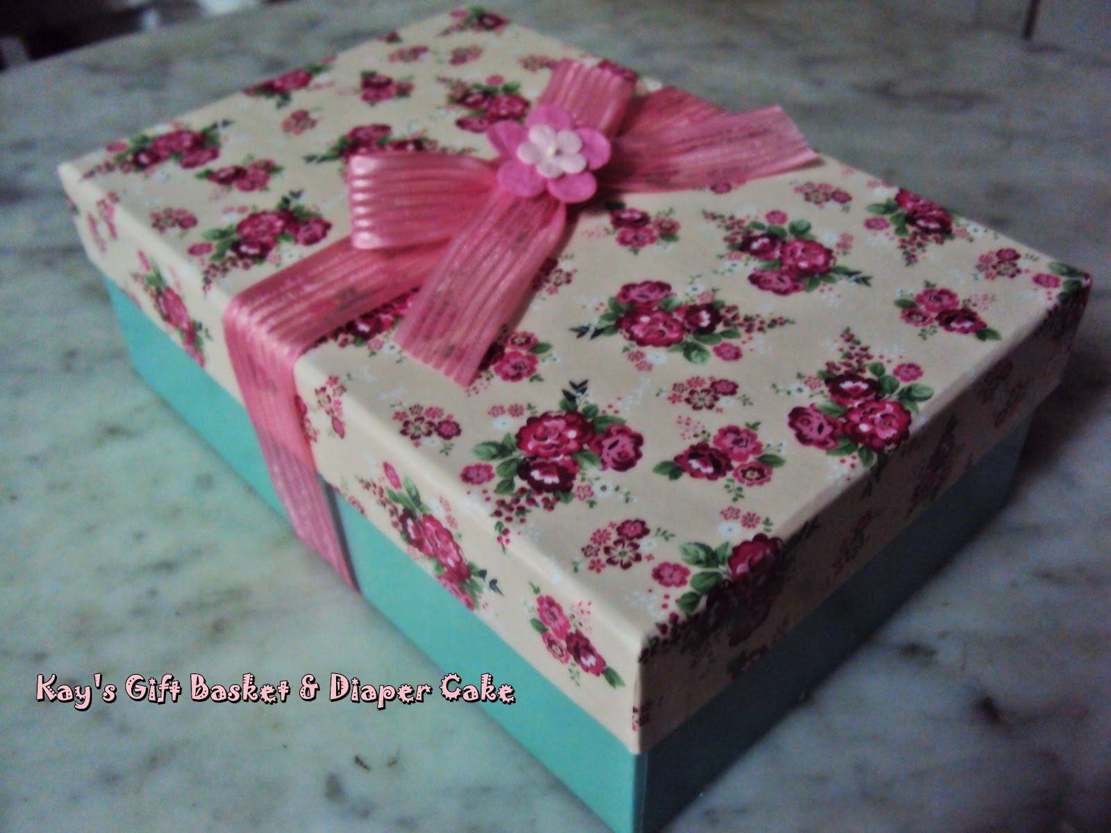 Kay 39 S Gift Basket Diaper Cake Special Gift For Someone