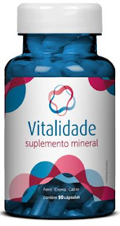 Vitalidade, suplemento mineral natural