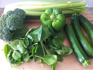 الخضروات الخضراء يساعد في علاج حموضة المعدة - حرقة المعدة