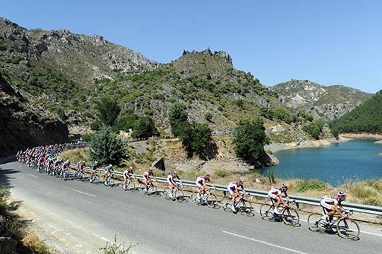 ciclistas vuelta España
