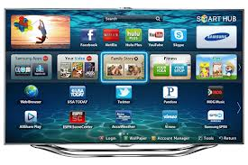 smart tv, web browser, apps, voice recognition
