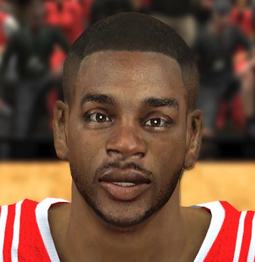 NBA 2K14 Troy Daniels Face Mod