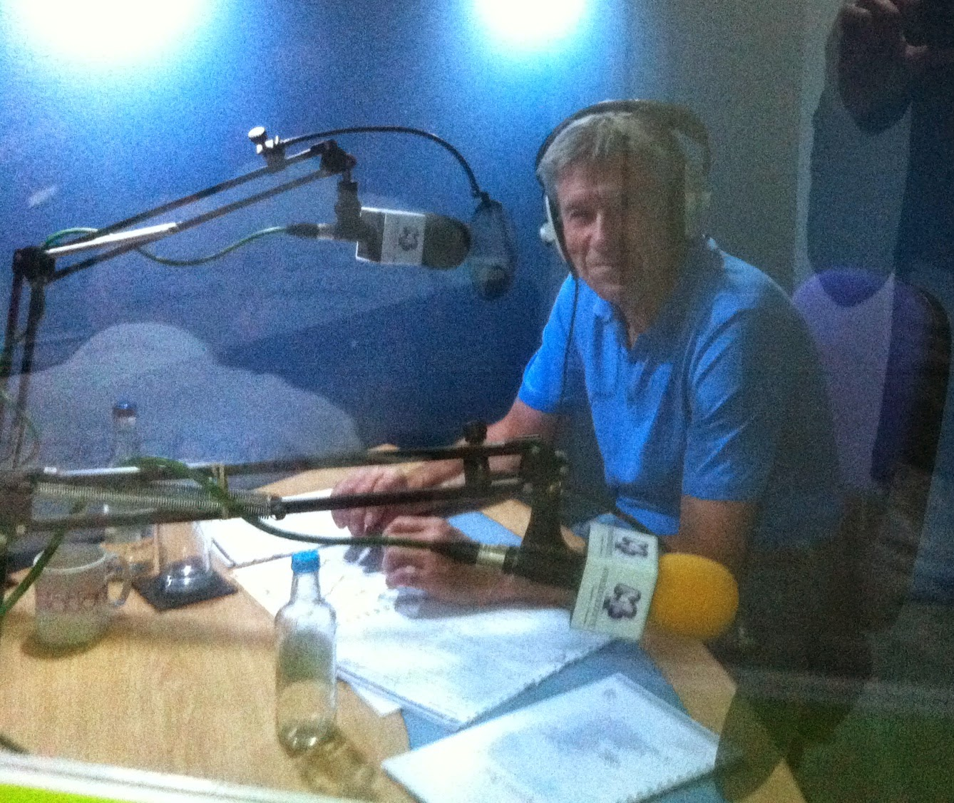 Tiff Needell, radio, studio, recording, Good Garage Scheme, Holiday Check