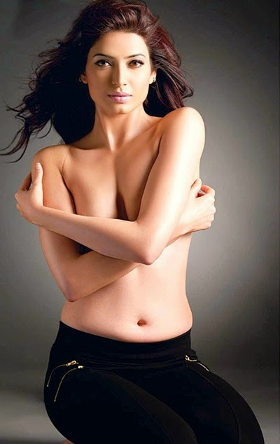 karishma tanna hot topless navel hd wallpapers