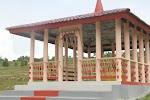 Tugu Parhaumason Raja Simanihuruk di Harapohan Samosir