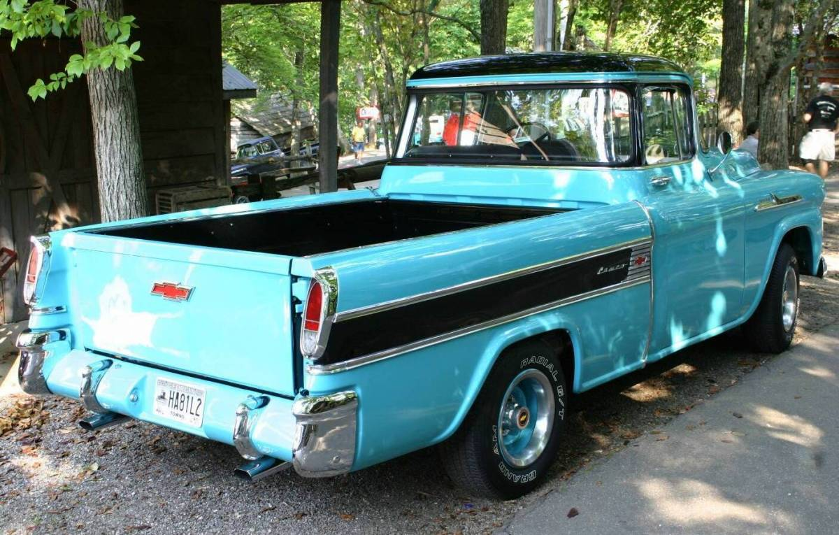 1958 Chevrolet Cameo Pickup Truck. 1958 Chevrolet Cameo Pickup Truck