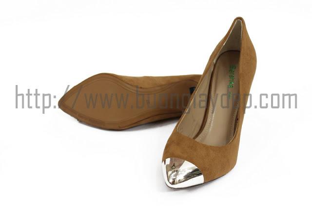 Bán buôn giày công sở bít mũi xuất khẩu