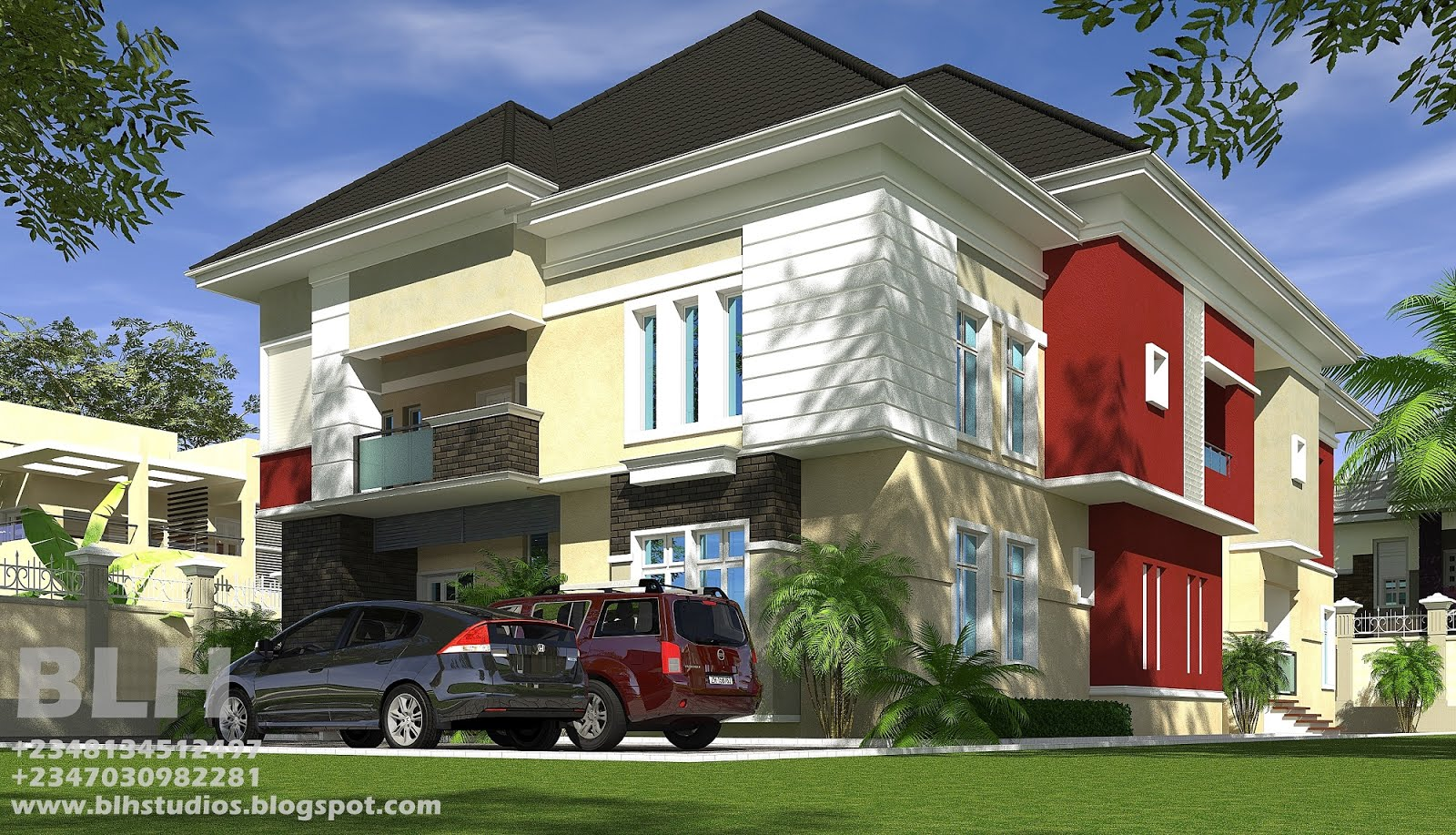 Architectural designs by blacklakehouse for 4 bedroom duplex designs