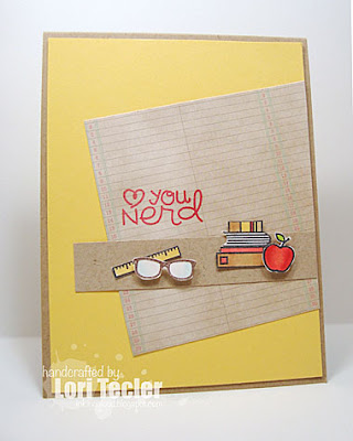 Love You Nerd card-designed by Lori Tecler/Inking Aloud-stamps from Paper Smooches