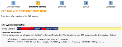 SAP HANA Back-up