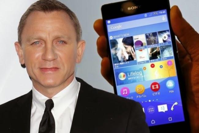 Cuma Pegang Telefon Bimbit Bintang 007 Daniel Craig Dibayar RM18juta Gambar