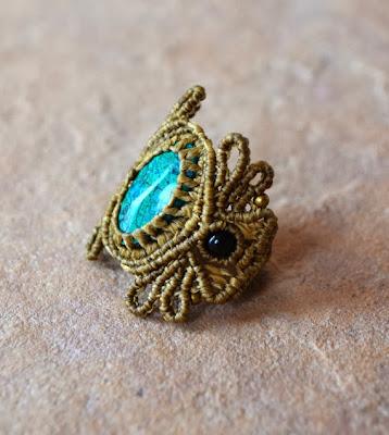Macrame Ring Spirit&Sol