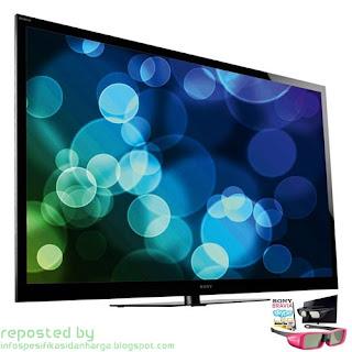 Harga Sony Bravia 3D TV KDL- 65HX925 LED Terbaru 2012