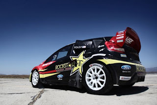 2011 Ford Fiesta Rally Car Tanner Foust
