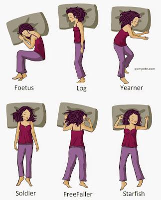 Posisi Tidur Melambangkan Peribadi Diri