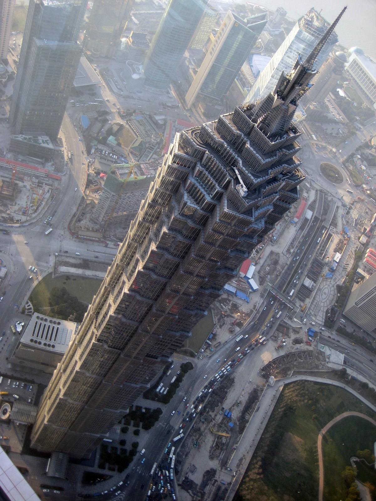 Torre Jin Mao de Shanghai.