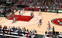 NBA 2K13 Toronto Raptors Court Patch