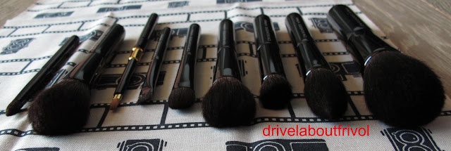 Chikuhodo Z series brush set Z-1, Z-2, Z-3, Z-4, Z-5, Z-6, Z-7, Z-8, Z-10