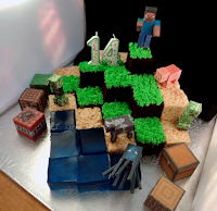 Minecraft individual block cake recipe and idea