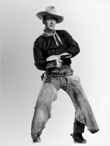 John Wayne en El hombre que mató a Liberty Valance