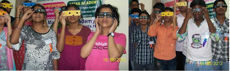 VENUS TRANSIT 2012  PLANETARY SOCIETY INDIA &TV9 INITIATIVE