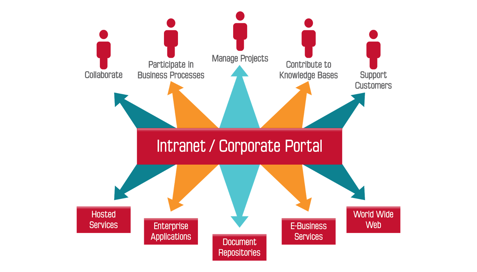 internet and intranet management