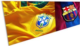 Barcelona e Real Madri vale mais que Seleção Brasileira de Futebol