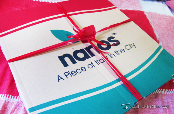 Foodie from the Metro - Quick Delivery Nanos Pizza