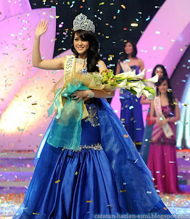 Vania Larissa Miss Indonesia 2013
